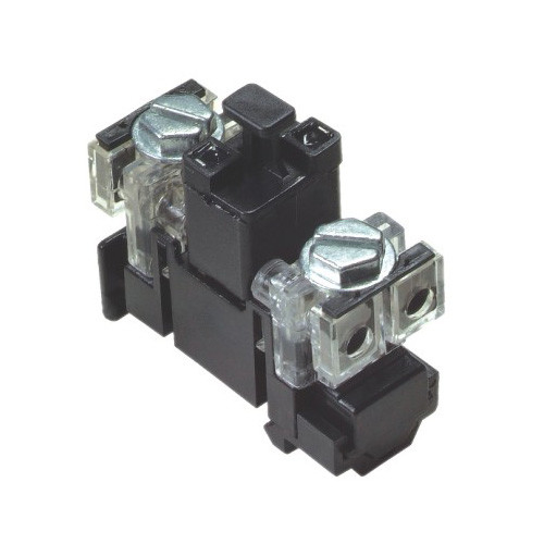 Black Subscriber Terminal Block With / Without Protection Against Overvoltage
