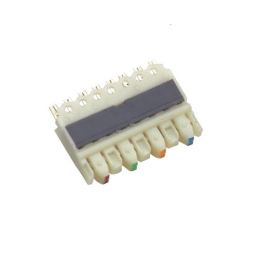 110 IDC Terminal Block For Telecommunication , Cat5e 4 Pairs 110 Connecting Block